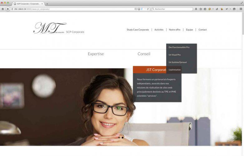 Création de site internet prototype de prestation de service | CDW