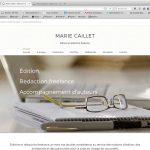 Création de site vitrine, page accueil | CDW