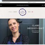 Création d'un site e-commerce de bijoux artisanaux, page d'accueil | CDW