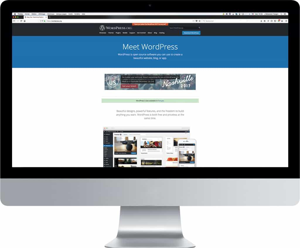 Création de site WordPress par CDW