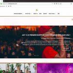 Création du site Abidjan Groove, page d'accueil