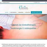 Création du site internet de la kinésithérapeute biokinergiste Fadila Ouzlifi