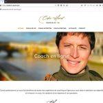 Création d'un site de coach en ligne, page d'accueil |CDW