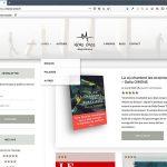 Refonte de blog Mémo Émoi |page d'accueil